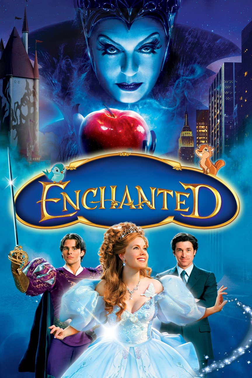 """Poster for the movie """"Enchanted"""""""