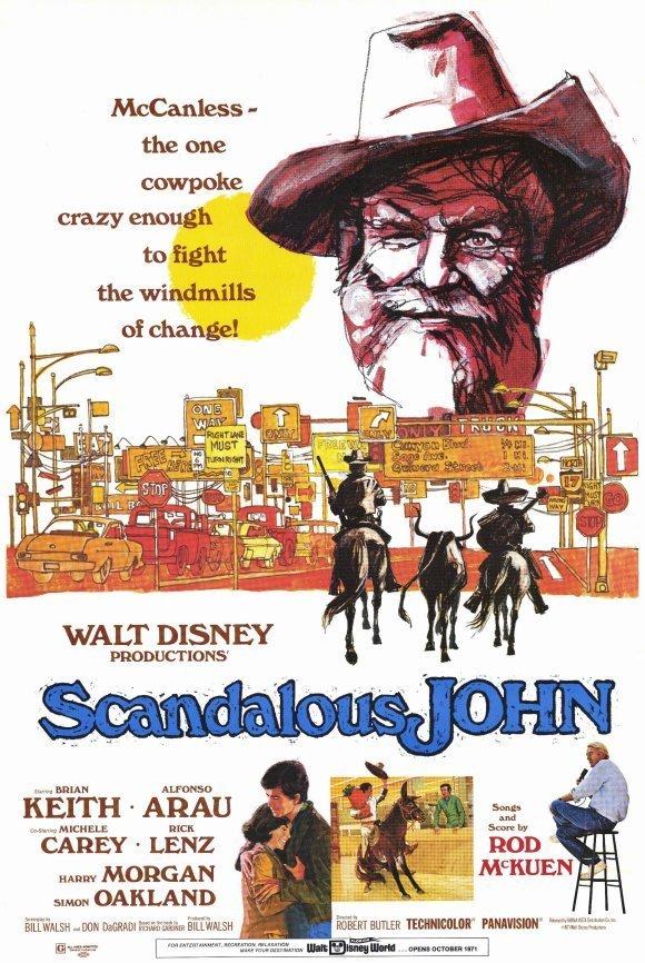 """Poster for the movie """"Scandalous John"""""""