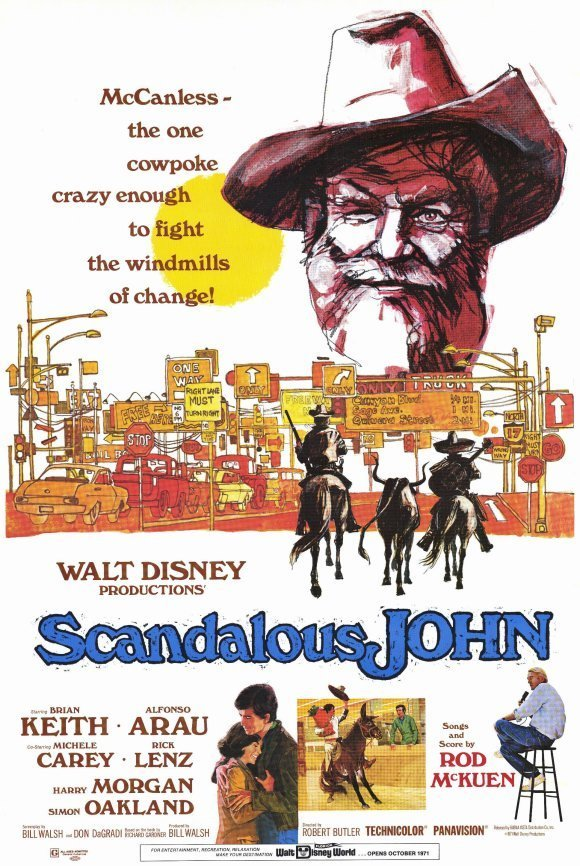 "Poster for the movie ""Scandalous John"""
