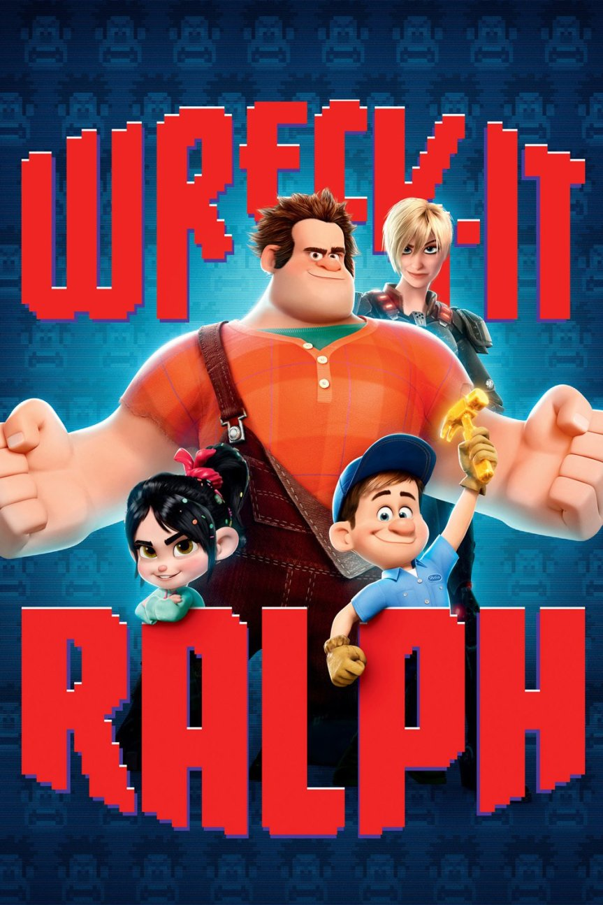 """Poster for the movie """"Wreck-It Ralph"""""""