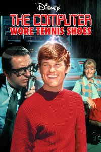 "Poster for the movie ""The Computer Wore Tennis Shoes"""