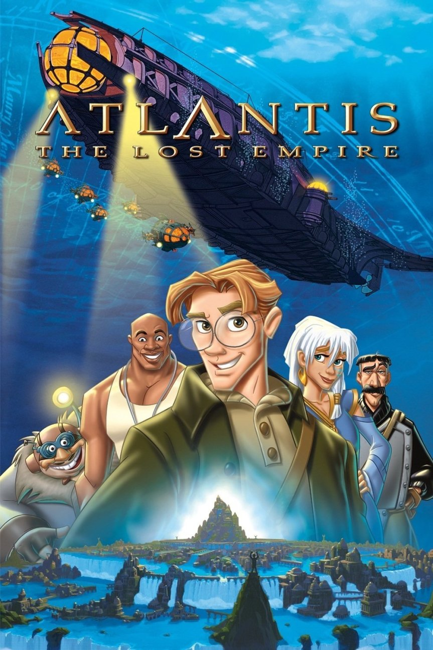 """Poster for the movie """"Atlantis: The Lost Empire"""""""