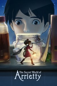 "Poster for the movie ""The Secret World of Arrietty"""
