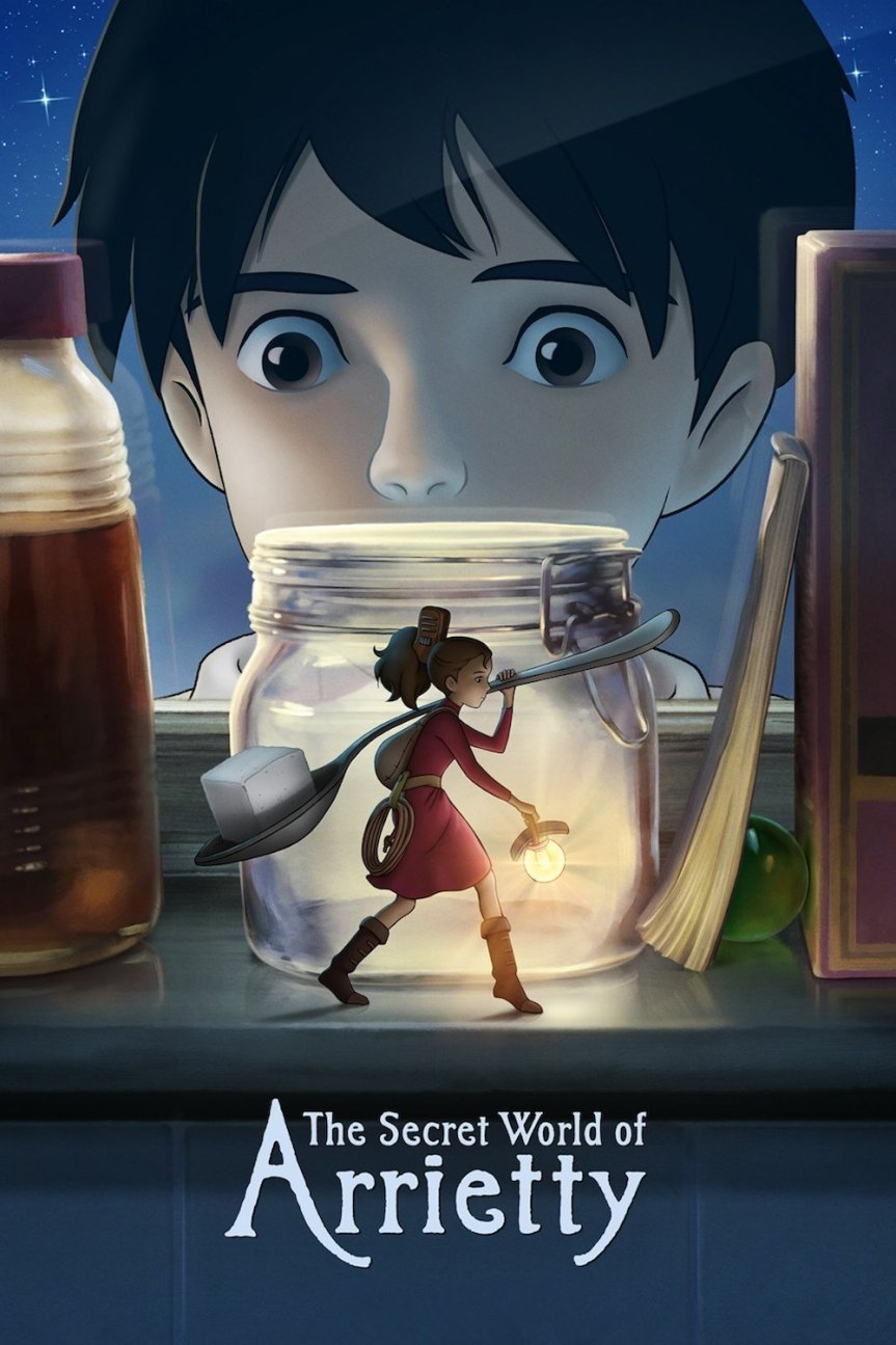 """Poster for the movie """"The Secret World of Arrietty"""""""