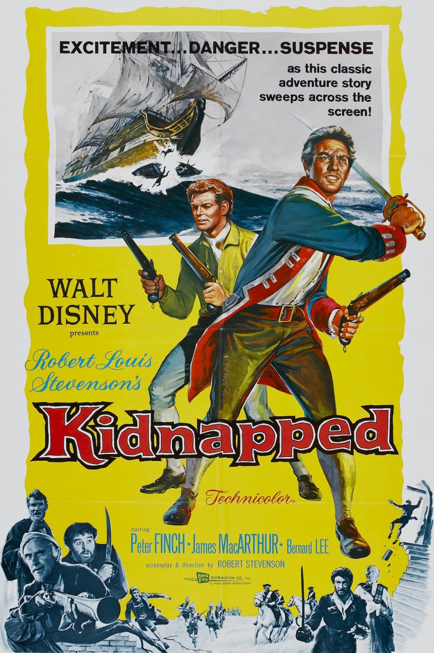 """Poster for the movie """"Kidnapped"""""""