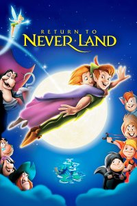 "Poster for the movie ""Return to Never Land"""