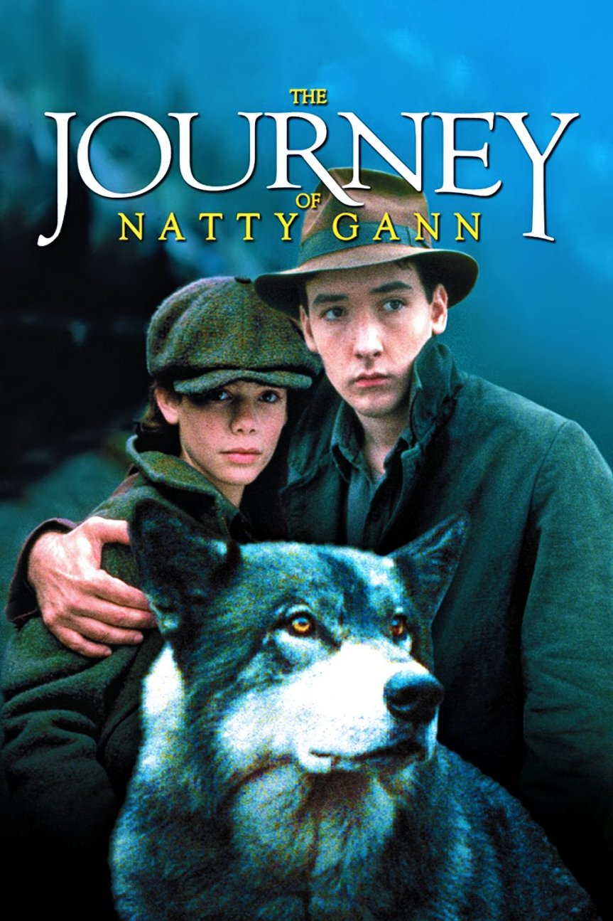 """Poster for the movie """"The Journey of Natty Gann"""""""