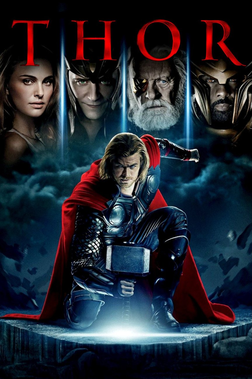 "Poster for the movie ""Thor"""