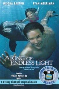 "Poster for the movie ""A Ring of Endless Light"""
