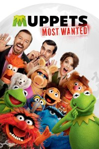 "Poster for the movie ""Muppets Most Wanted"""