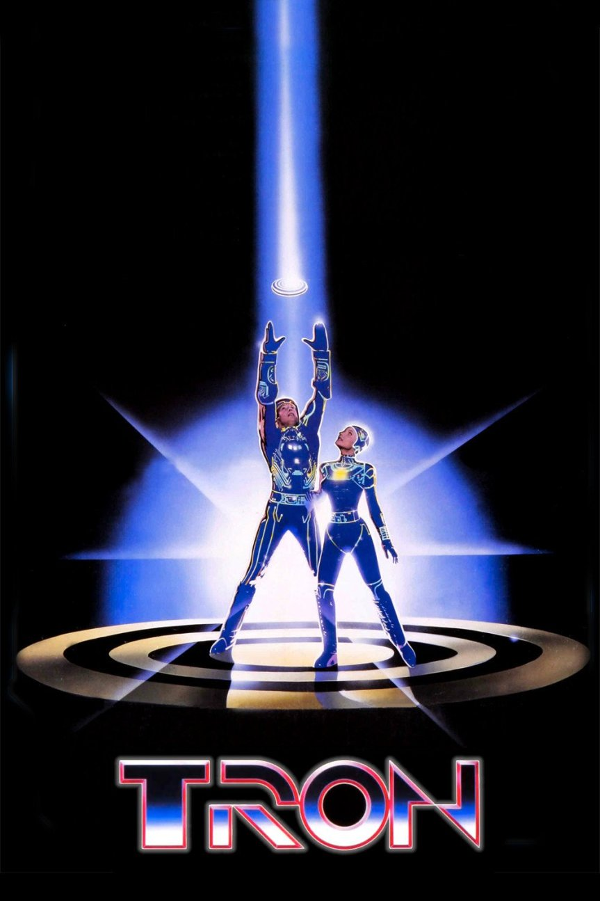 """Poster for the movie """"Tron"""""""