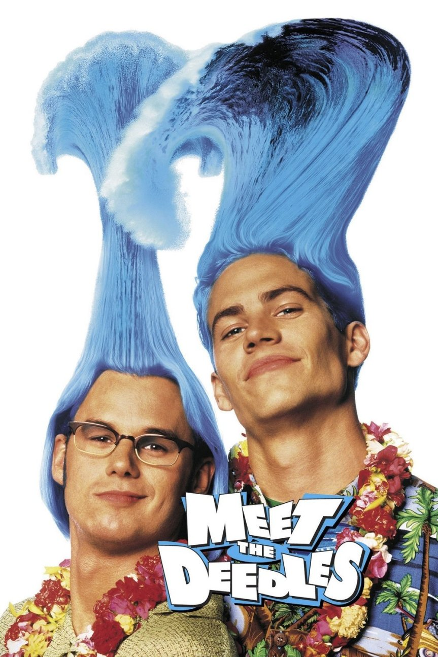 "Poster for the movie ""Meet the Deedles"""