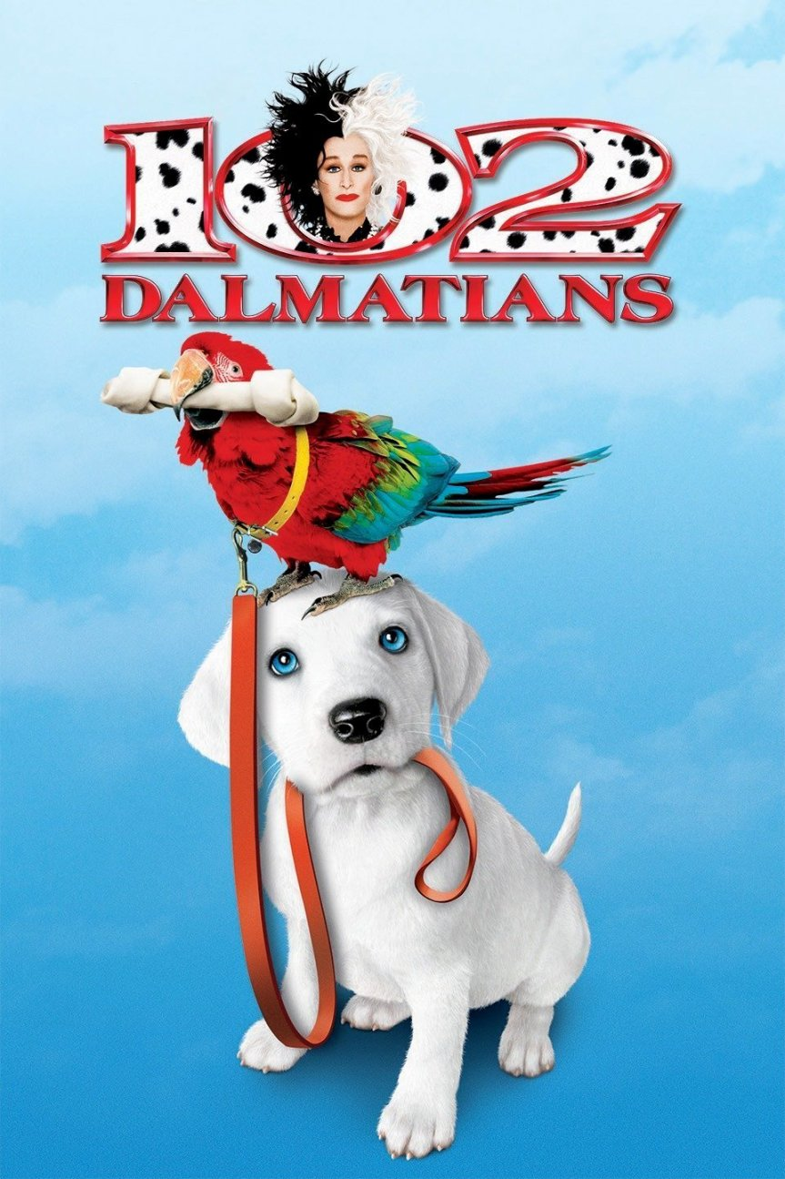 """Poster for the movie """"102 Dalmatians"""""""