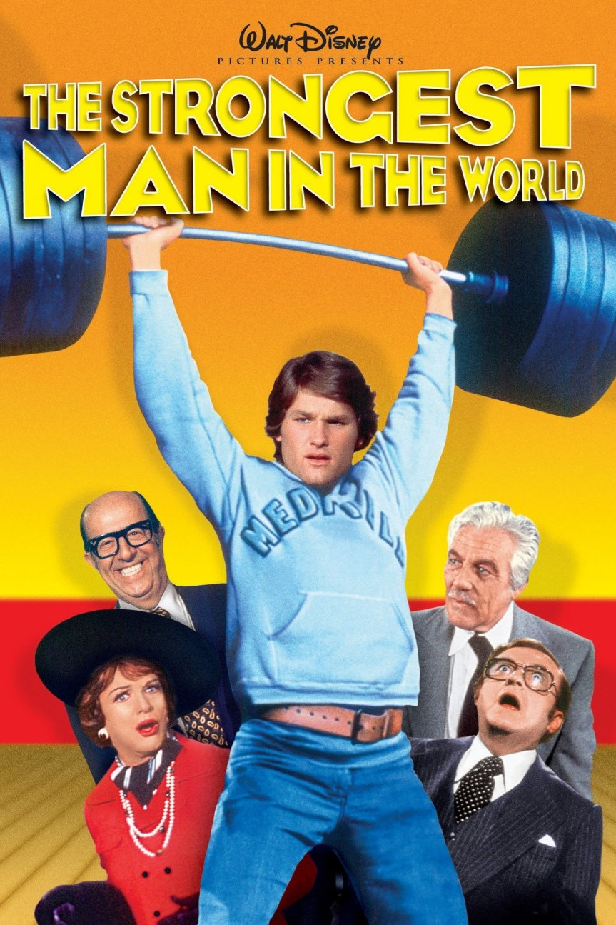 """Poster for the movie """"The Strongest Man in the World"""""""