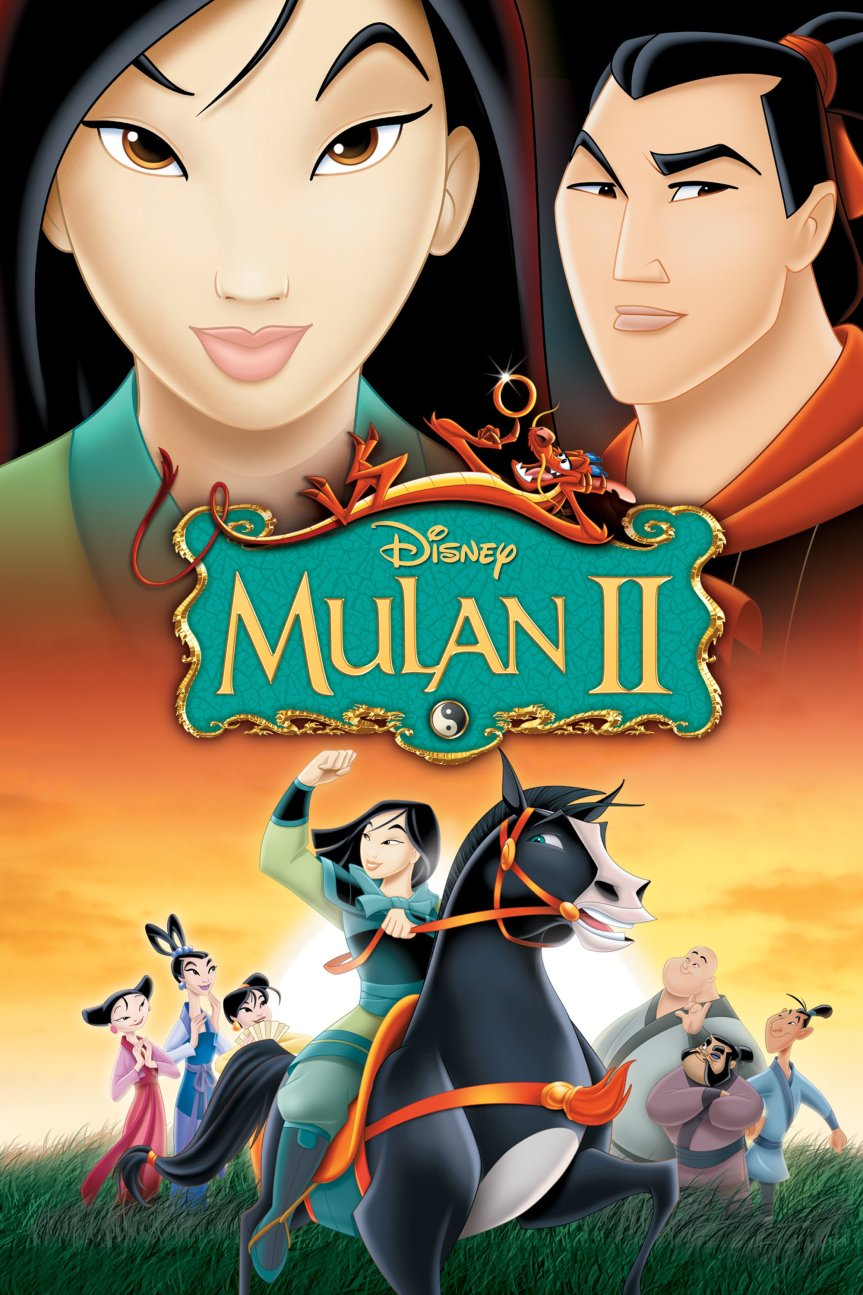 "Poster for the movie ""Mulan II"""
