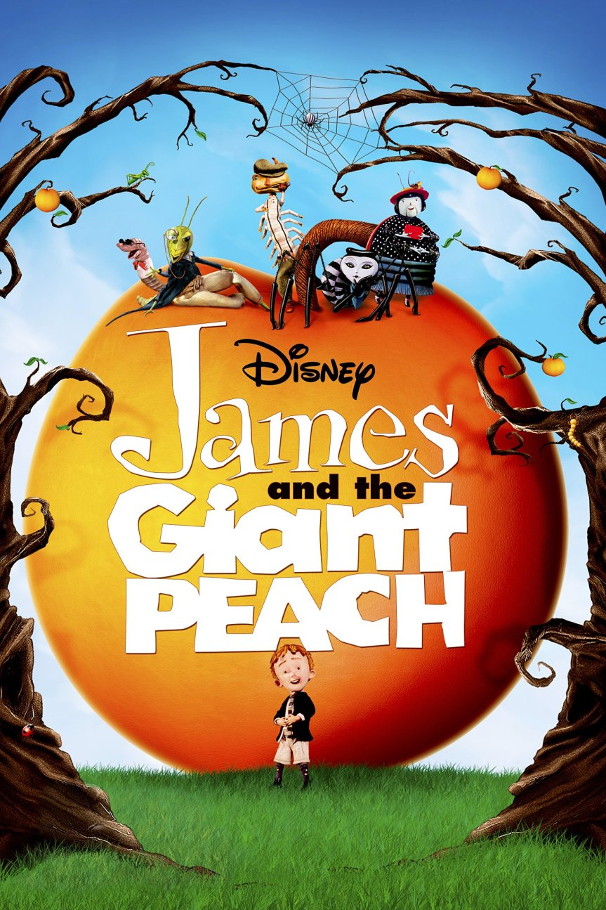 "Poster for the movie ""James and the Giant Peach"""