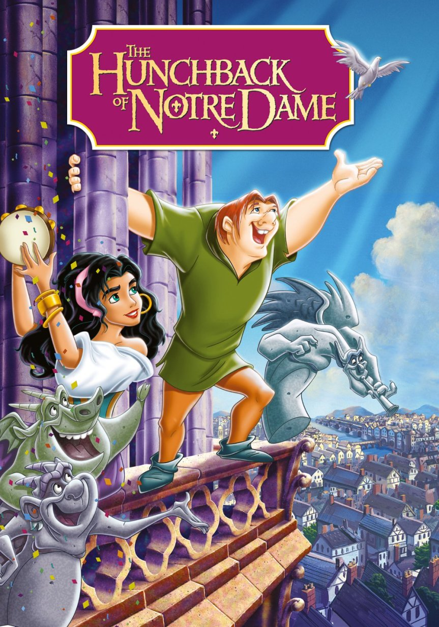 """Poster for the movie """"The Hunchback of Notre Dame"""""""