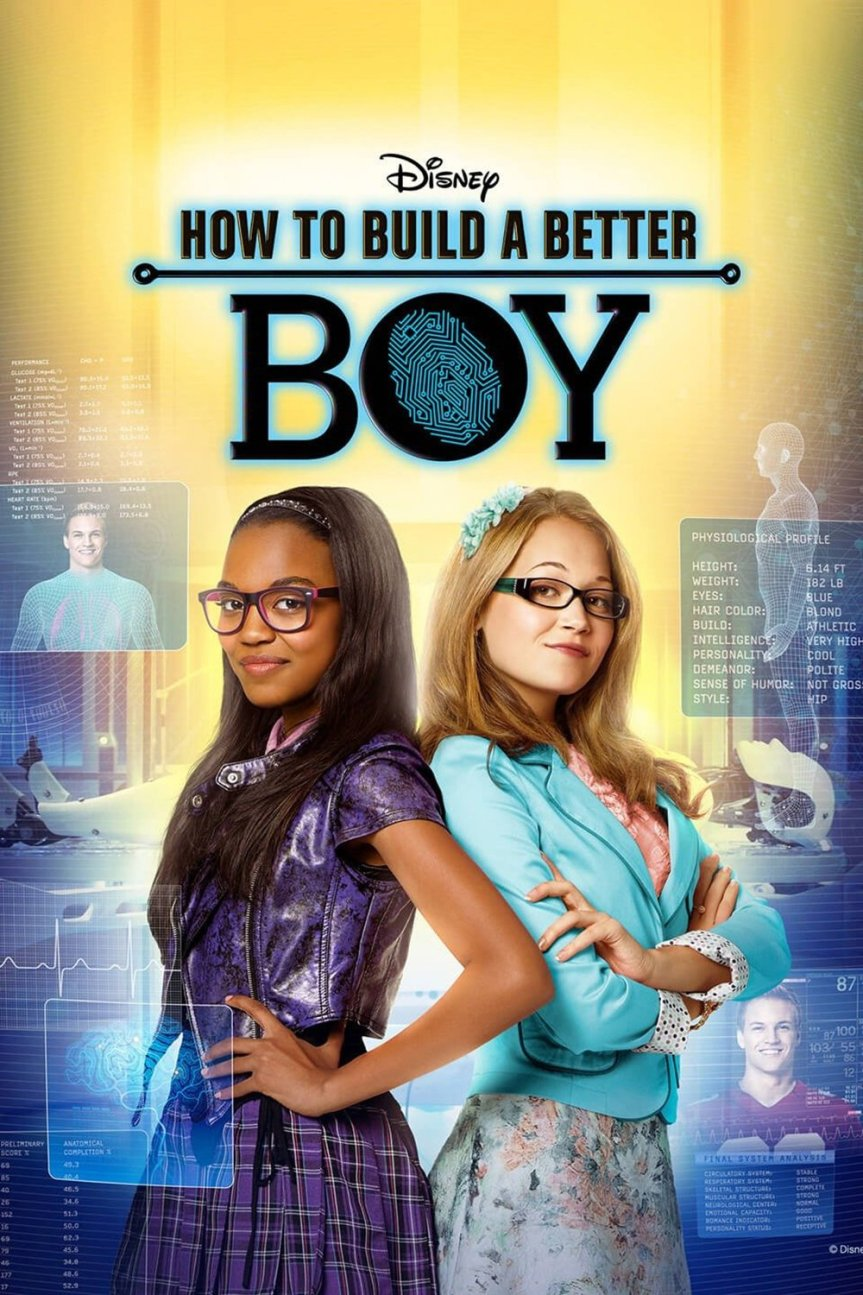 "Poster for the movie ""How to Build a Better Boy"""