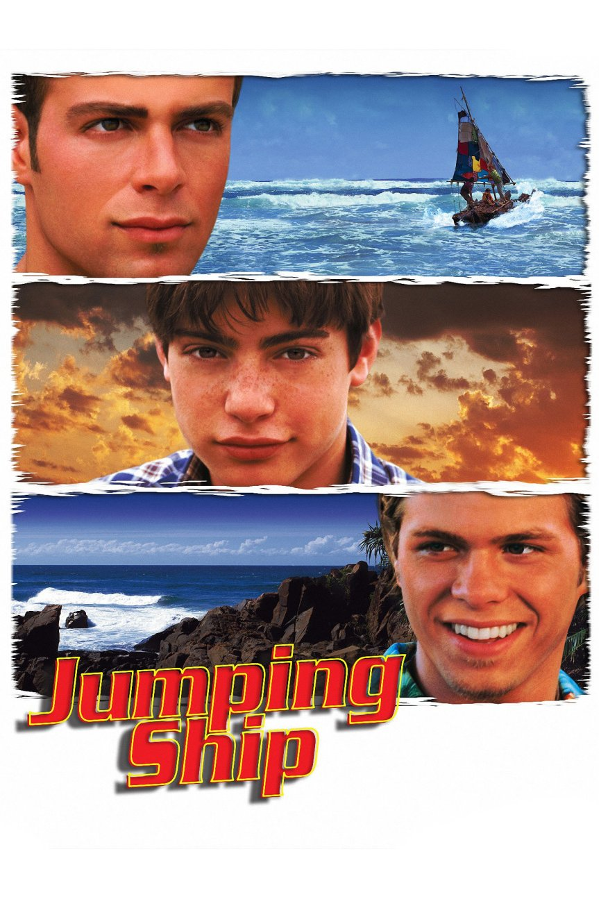 "Poster for the movie ""Jumping Ship"""