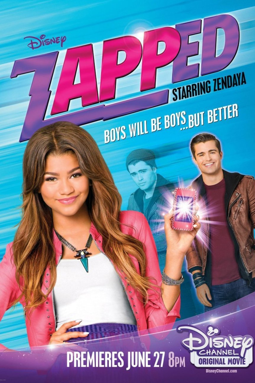 """Poster for the movie """"Zapped"""""""
