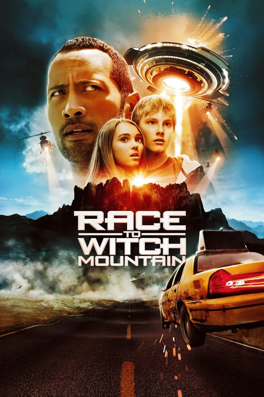 "Poster for the movie ""Race to Witch Mountain"""