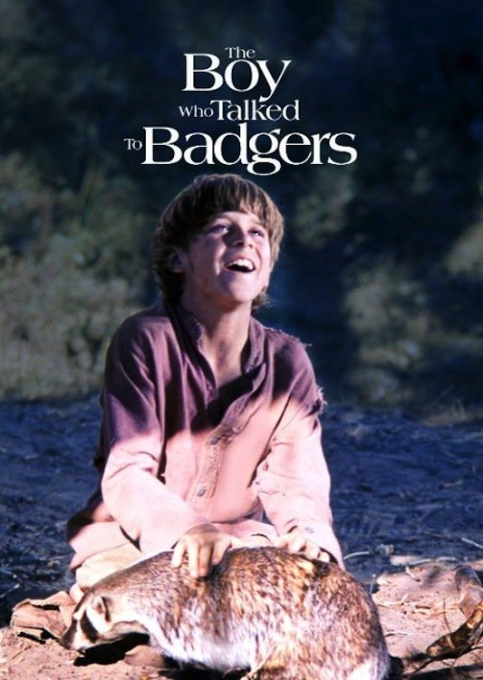 """Poster for the movie """"The Boy Who Talked to Badgers"""""""