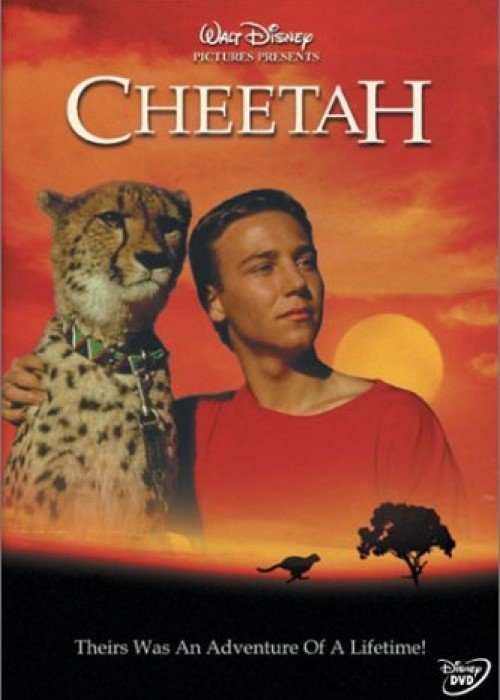 "Poster for the movie ""Cheetah"""
