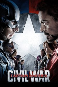 "Poster for the movie ""Captain America: Civil War"""