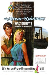 "Poster for the movie ""The Moon-Spinners"""