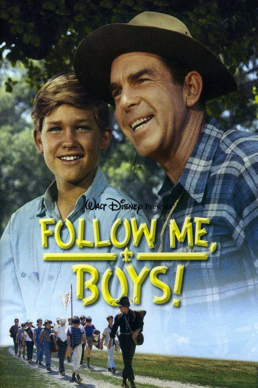 "Poster for the movie ""Follow Me, Boys!"""