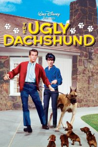 "Poster for the movie ""The Ugly Dachshund"""