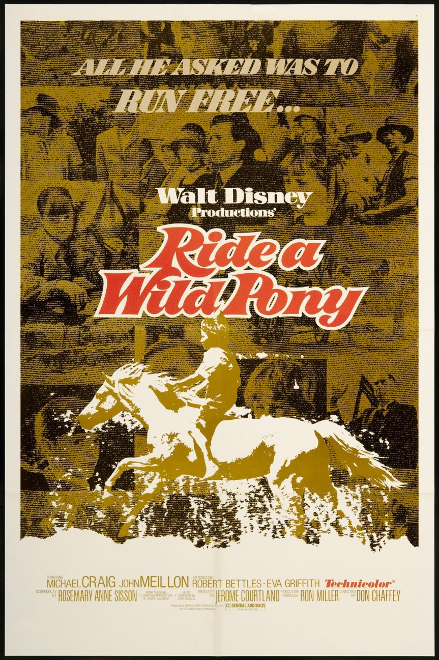 "Poster for the movie ""Ride a Wild Pony"""