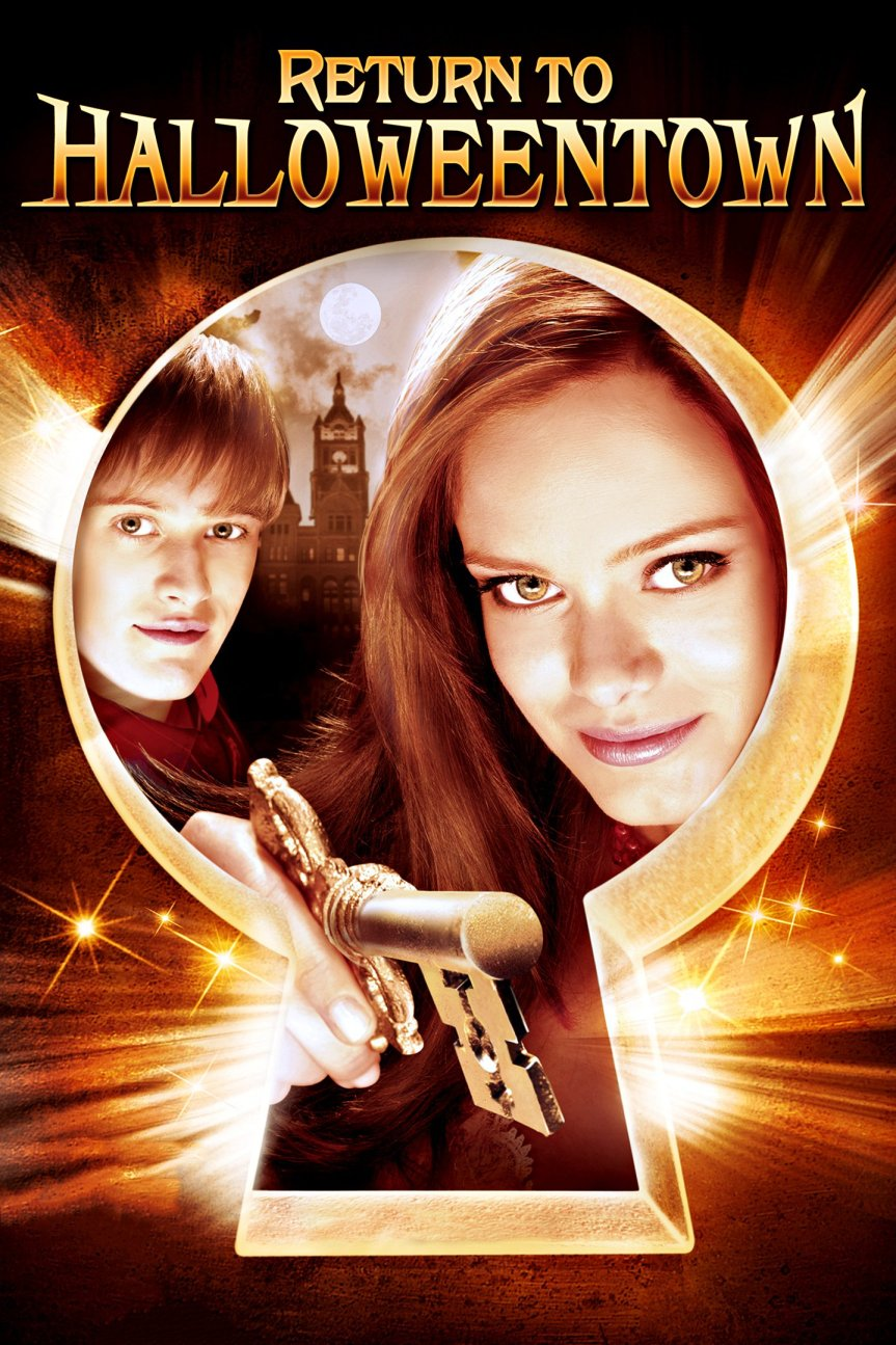 "Poster for the movie ""Return to Halloweentown"""