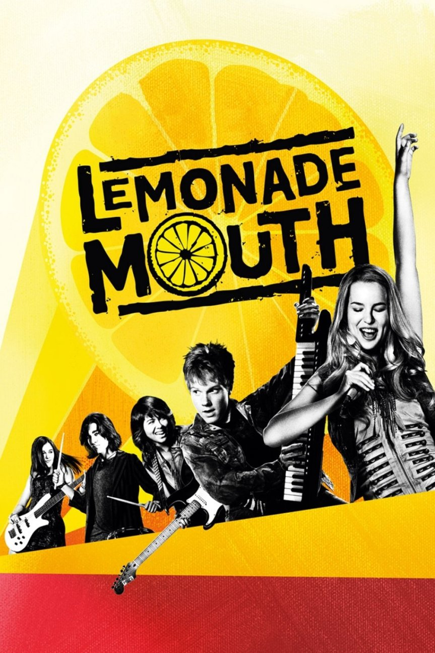 """Poster for the movie """"Lemonade Mouth"""""""