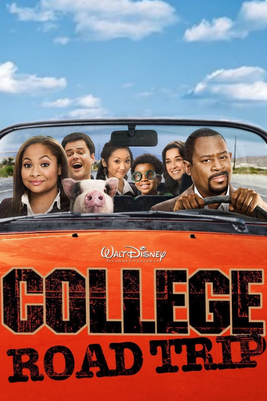 "Poster for the movie ""College Road Trip"""