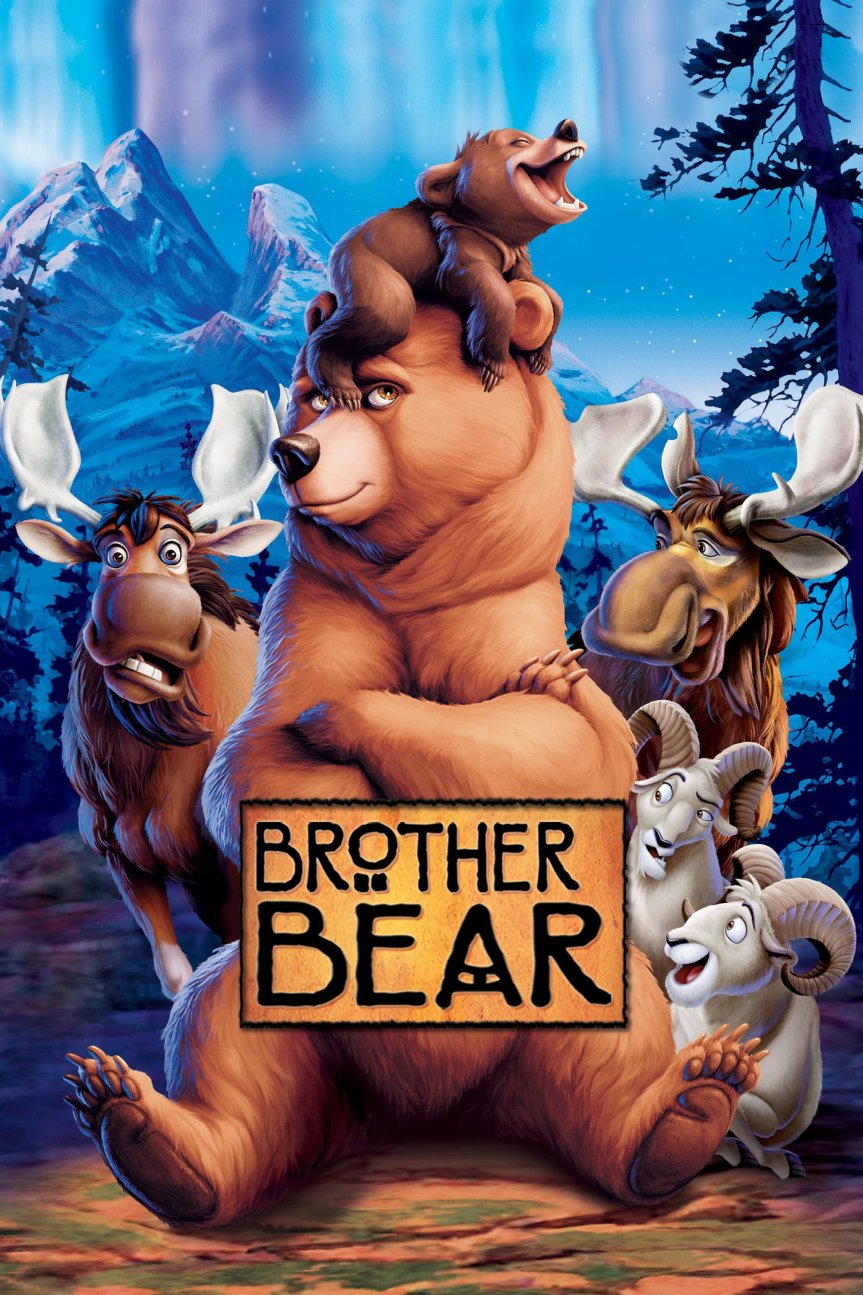 "Poster for the movie ""Brother Bear"""