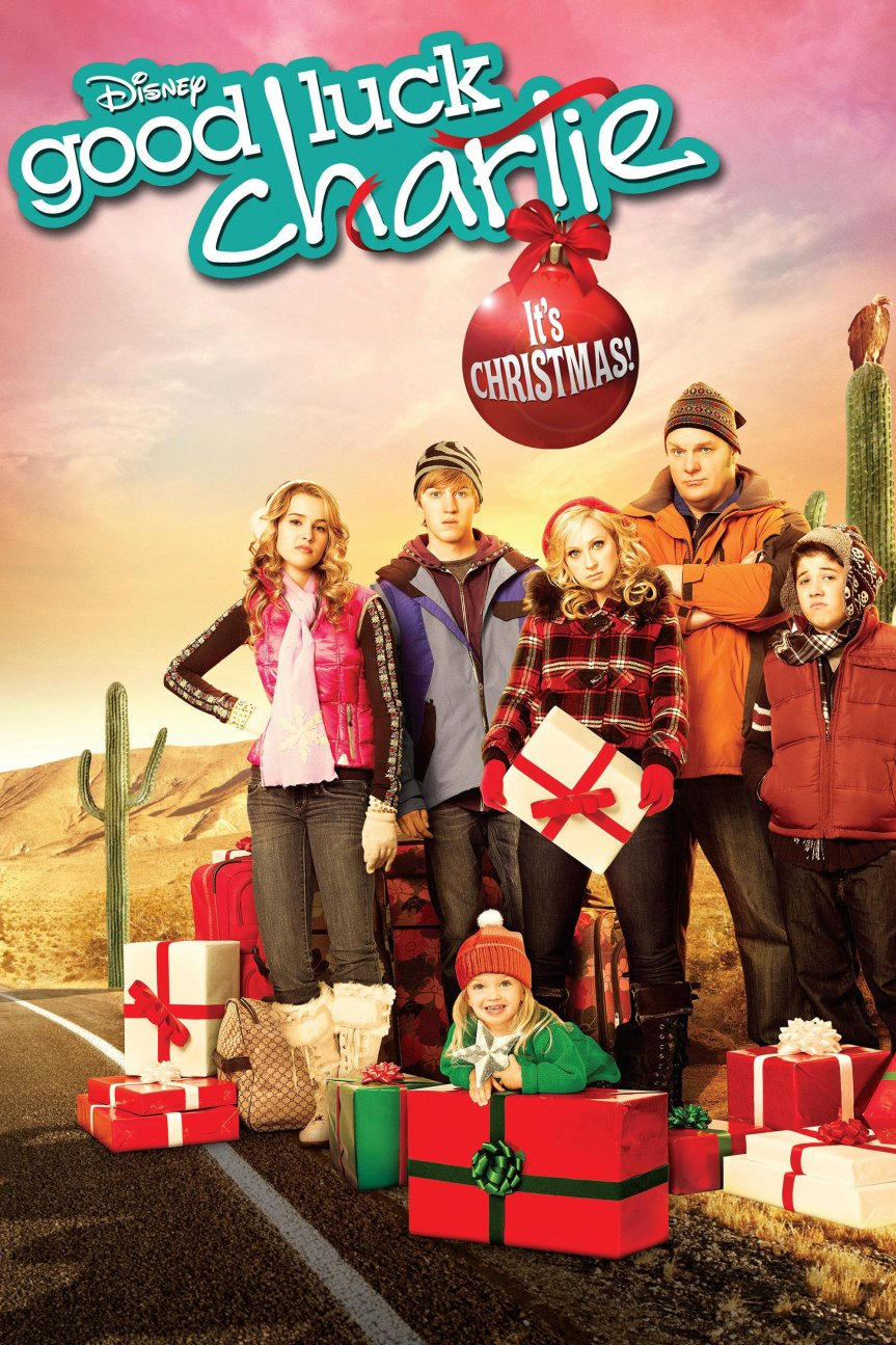 "Poster for the movie ""Good Luck Charlie, It's Christmas!"""