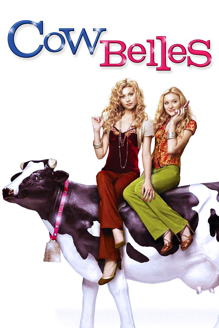 """Poster for the movie """"Cow Belles"""""""