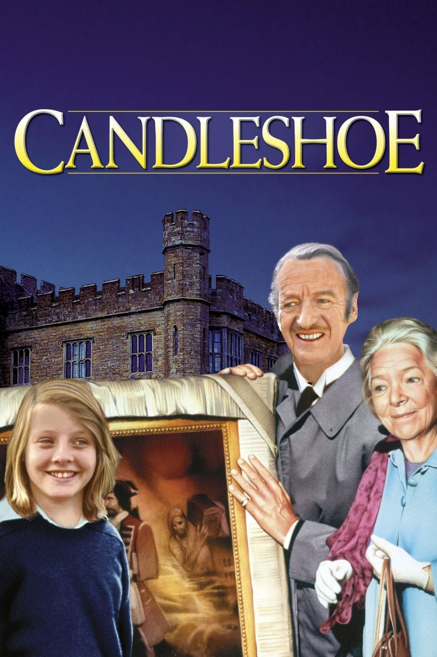 """Poster for the movie """"Candleshoe"""""""