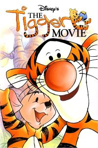 "Poster for the movie ""The Tigger Movie"""