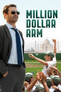 "Poster for the movie ""Million Dollar Arm"""
