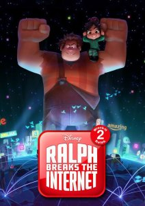 "Poster for the movie ""Ralph Breaks the Internet: Wreck-It Ralph 2"""