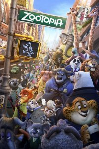 "Poster for the movie ""Zootopia"""