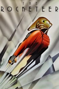 "Poster for the movie ""The Rocketeer"""