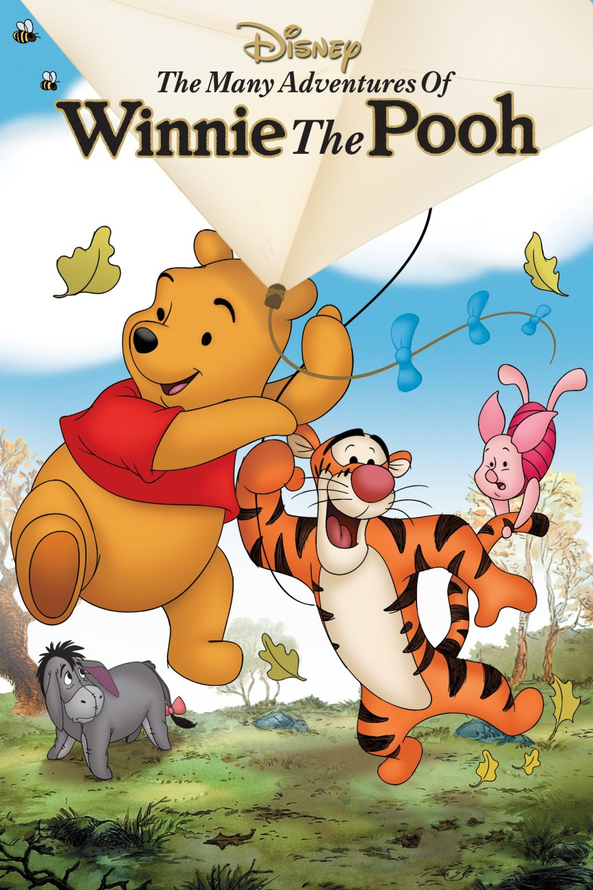 """Poster for the movie """"The Many Adventures of Winnie the Pooh"""""""