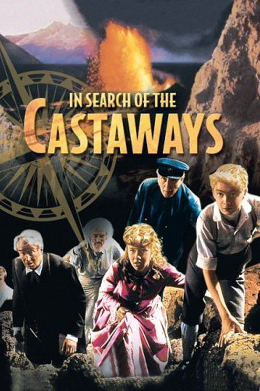 """Poster for the movie """"In Search of the Castaways"""""""