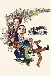 "Poster for the movie ""The Happiest Millionaire"""