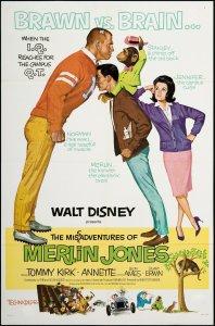 "Poster for the movie ""The Misadventures of Merlin Jones"""