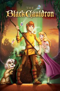 "Poster for the movie ""The Black Cauldron"""
