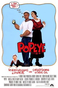 "Poster for the movie ""Popeye"""